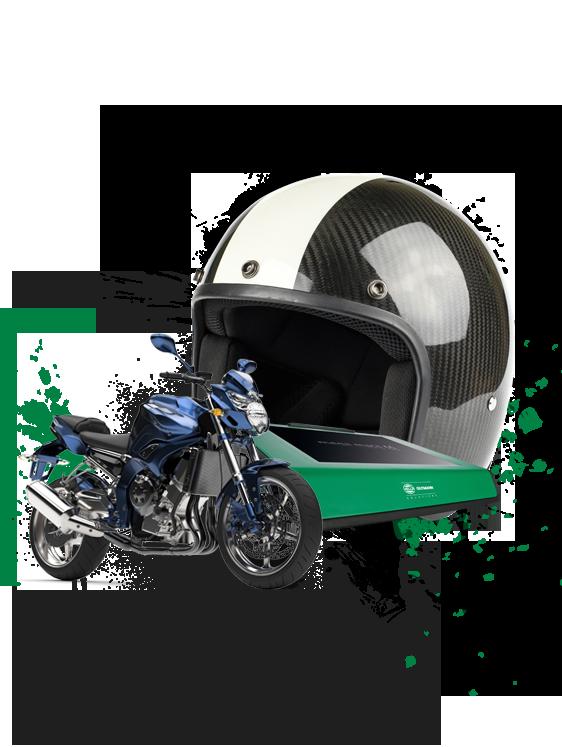 Zdatný pomocník pro dvoukolová motorová vozidla